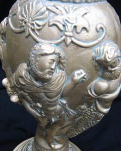 Бутикова тракийска ваза - злато с патина 2