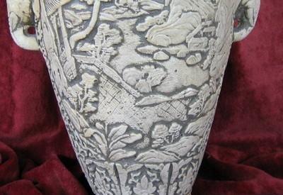 Ваза (кашпа) с орнамент слон