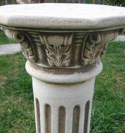 Колона с орнаментиран капител 1