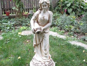 Статуя Данаида - воден ефект 1