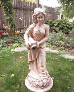 Статуя Данаида - воден ефект 2